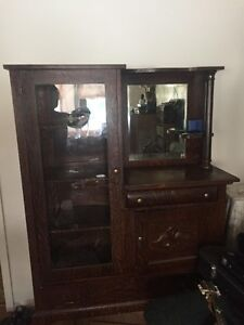 1940's Display cabinet