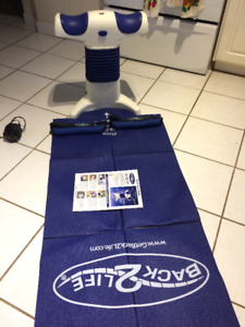 Back pain relief machine