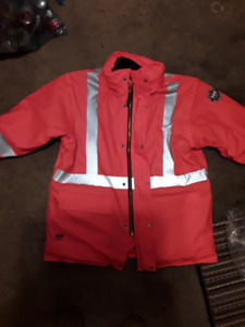 New Helly Hansen Hopedale Parka/winter jacket FR/safety striping