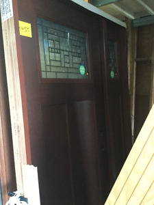 New and used doors