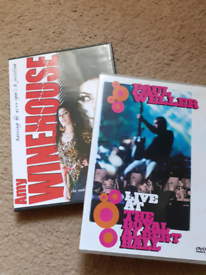 Paul weller & Amy Winehouse dvds £6