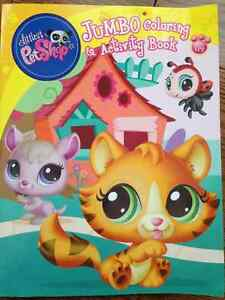 Littlest Pet Shop Jumble Coloring & Activity Books