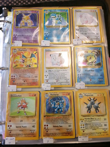 500 + pokemon card collection **Rare** (Base Set, Jungle fossil)