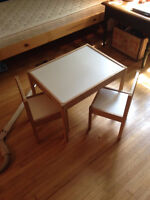 IKEA Child's Table + 2 Chairs!