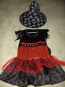 """"""" RUBIES """" WITCH & HAT COSTUME **NEW PRICE **"""