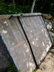 FREE! QUEEN BOX SPRING, 2 QUEEN FRAMES, CHAIRS AND BOOGEY BOARD!