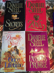 Danielle Steel book collection for sale.
