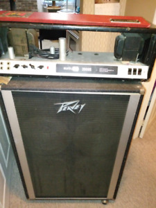 Peavey Bass Amp Just The Cabinet now,The Head is SOLD
