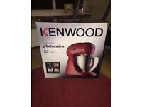 Brand New Boxed Kenwood Patissier Stand Mixer MX311 - Red