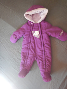 0-3 month Winter Baby Suits