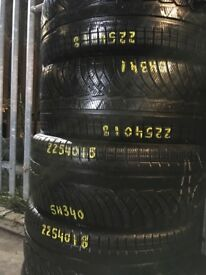 225/40/18 Winter Tyres . Used Part Worn Tyres for sale . Tyre shop . 225/40R18 225 40 18