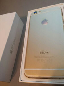 Gold Iphone 6 16gb Telus/ Kodoo
