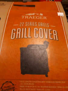 Brand new Traeger Bbq Cover will fit Pro 22 or Eastwood 22