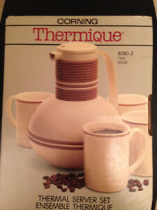 CORNING THERMIQUE (THERMAL) SERVER SET $10.00