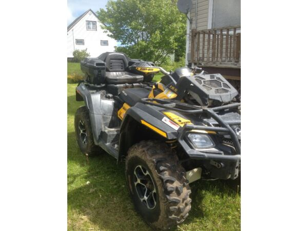 Used 2012 Can-Am Outlander 800 XMR