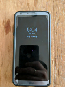 Lg G6 with glass screen protector