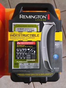 Remington Lithium Cordless Hair Trimmer