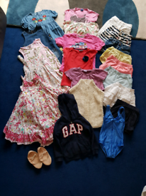 Girl's clothes age 5-7
