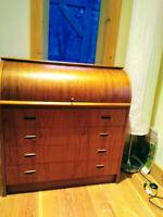 Antique teak desk