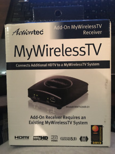 Action Tec - Add-On My Wireless TV Receiver & Transmitter