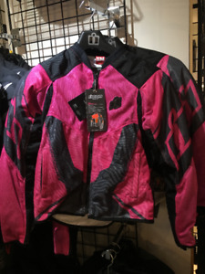 WOMENS ICON ANTHEM 2 MOTORCYCLE JACKETS AT HFX MOTORSPORTS!!!