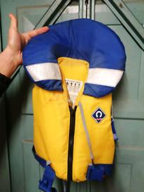 Childrens life jackets bouyancey aids