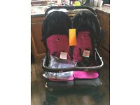 Brand new twin pushchair
