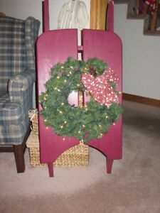 Decorative Christmas Sleigh