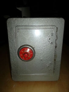 Cool 60's Japanese Tin Bank with Alarm!