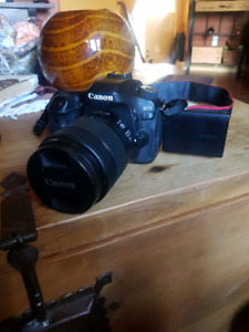 Canon 80d and sling over case