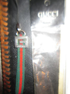 Gucci Cell Phone Strap Keychain Fob Made Italy Vintage Rare