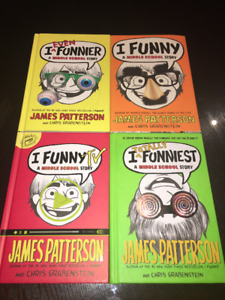 I Funny (A MIddle School Story) Book series (4 Books)