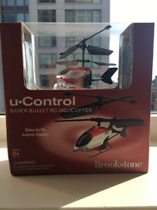 Brookstone and Gravity Sky Force RC Helicopters brand new in box