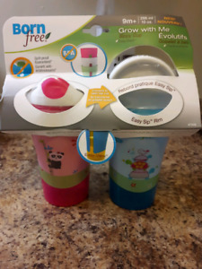 Brand new baby sippy cups
