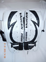 Goalie equipment - skates and pads for sale