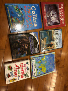 5 children's reference books!!
