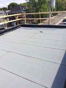 Flat Roof leaking? Let us help you, protect your investment! London Ontario image 8