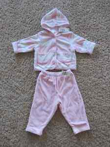 Size 6-9 Months Children's Place Velour Outfit