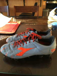 Leather Soccer Cleats