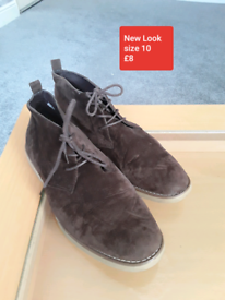 Mens New Look Suede boot