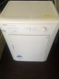 White beko dryers good condition with guarantee bargain