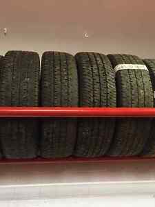 Set of 4 265/70/18 Michelins