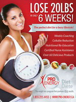Pro Energy 6 week program Now at Sunsera Salons
