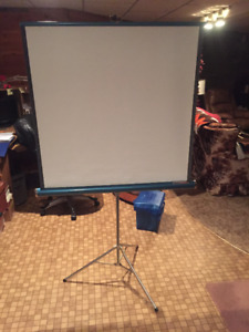 projector screen and universal 8 mm super 8 mm and 16 Spicer