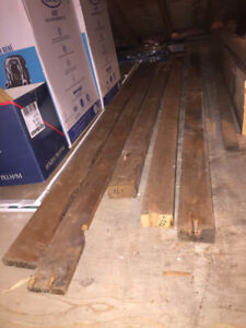 Old Style Lumber - 2x4's & 1x4's