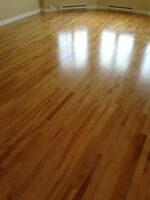 installation of hardwood and laminate flooring, refinishing