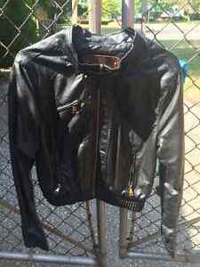 Ci Sono by Cavalini -Faux Leather Motorcycle Jacket Windsor Region Ontario image 3