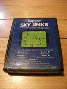 Sky Jinks (Atari 2600, 1982) Game Cartridge by Activision AX-019