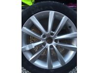1 only vw Passat brand new alloy tyre £220