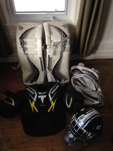 Goalie equipment